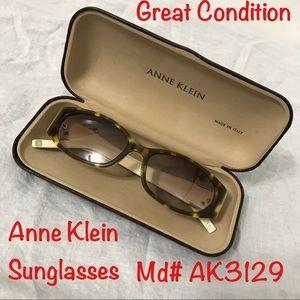 Anne Klein sunglasses l. Great Condition